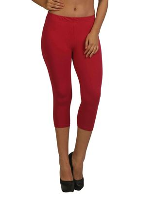 frenchtrendz-cotton-spandex-dark-fuchsia-capri