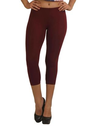 frenchtrendz-cotton-spandex-dark-maroon-capri