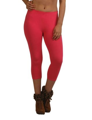 frenchtrendz-cotton-spandex-dark-pink-capri