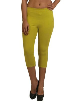frenchtrendz-cotton-spandex-lime-capri