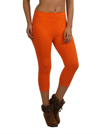 frenchtrendz-cotton-spandex-orange-capri