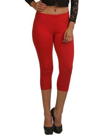 frenchtrendz-cotton-spandex-red-capri