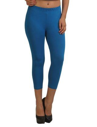 frenchtrendz-cotton-spandex-royal-blue-capri