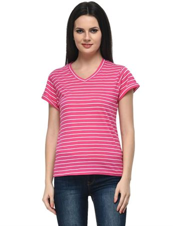 frenchtrendz-rolled-sleeve-pink-white-stripes-top