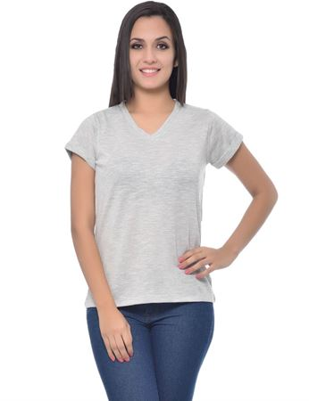 frenchtrendz-rolled-sleeve-crispy-slub-grey-top