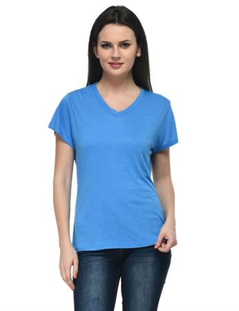 frenchtrendz-v-neck-viscose-slub-blue-top