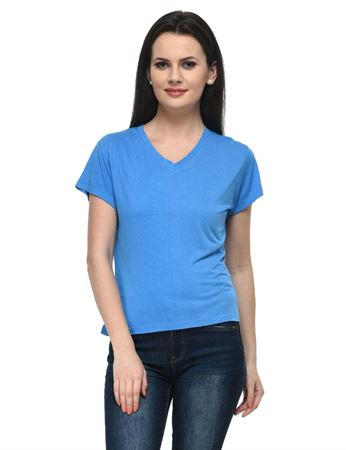 frenchtrendz-v-neck-short-viscose-blue-top