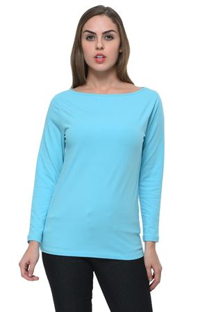 frenchtrendz-boat-neck-cotton-spandex-sky-blue-top