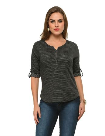 frenchtrendz-henley-raglan-polka-dot-black-top
