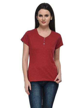 frenchtrendz-cotton-slub-henley-maroon-top