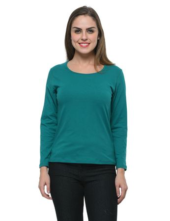 frenchtrendz-bateu-neck-cotton-spandex-dark-turq-top