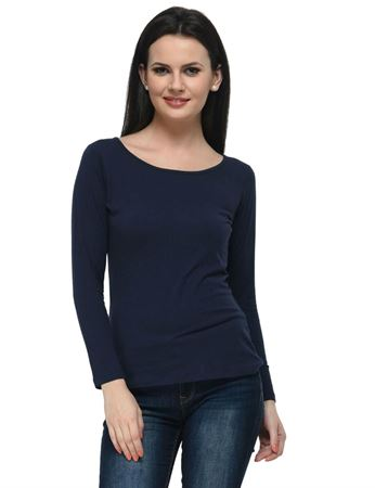 frenchtrendz-bateu-neck-cotton-spandex-navy-top