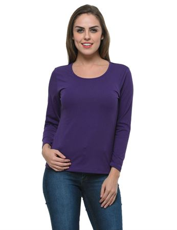 frenchtrendz-bateu-neck-cotton-spandex-purple-top