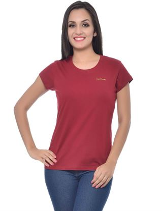 frenchtrendz-round-neck-cotton-dark-maroon-t-shirt