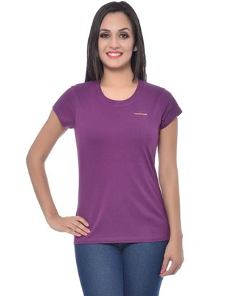 frenchtrendz-round-neck-cotton-dark-purple-t-shirt