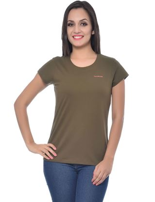 frenchtrendz-round-neck-cotton-olive-t-shirt