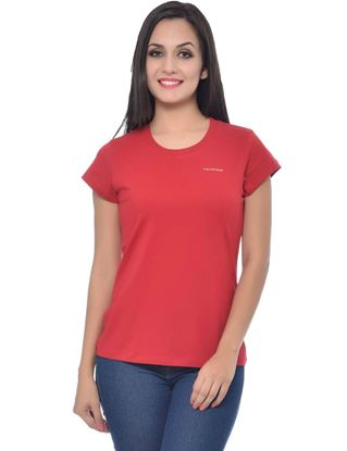 frenchtrendz-round-neck-cotton-red-t-shirt