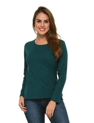 frenchtrendz-cotton-teal-full-sleeves-top