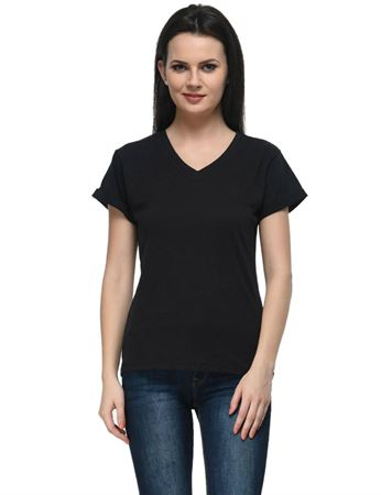 frenchtrendz-v-neck-cotton-slub-black-top