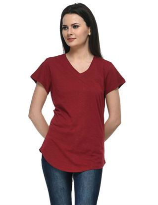frenchtrendz-v-neck-long-cotton-slub-dark-maroon-top