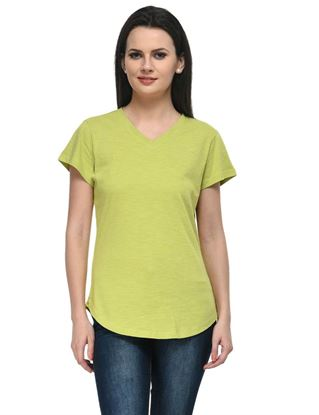 frenchtrendz-v-neck-long-cotton-slub-lime-top