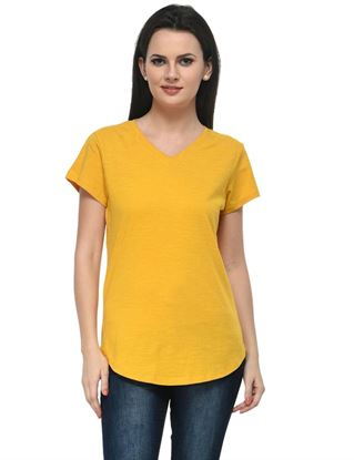 frenchtrendz-v-neck-long-cotton-slub-mustard-top