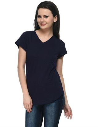 frenchtrendz-v-neck-long-cotton-slub-navy-top
