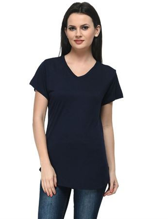 frenchtrendz-v-neck-long-viscose-navy-top