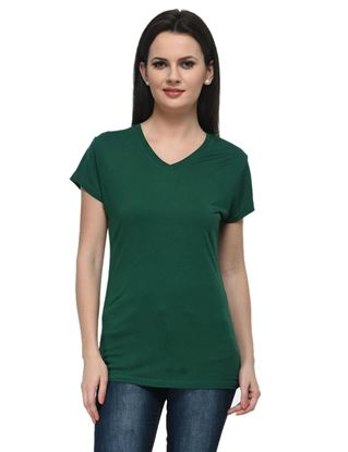 frenchtrendz-v-neck-viscose-dark-green-top