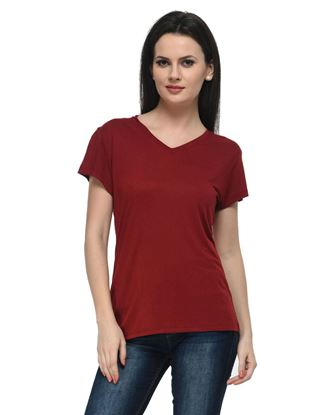 frenchtrendz-v-neck-viscose-dark-maroon-top