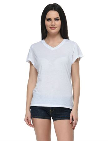 frenchtrendz-v-neck-poly-viscose-white-top