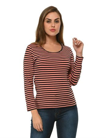 frenchtrendz-bateu-neck-viscose-spandex-coral-navy-stripe-top