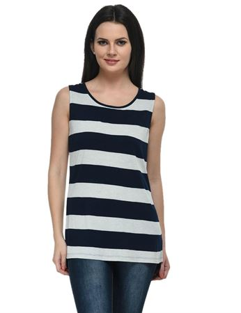 frenchtrendz-viscose-navy-oatmeal-long-sleeveless-top