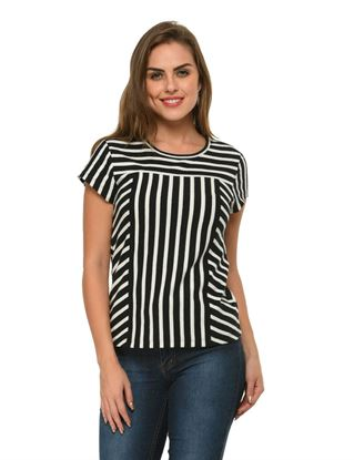 frenchtrendz-horizontal-vertical-cap-sleeves-black-white-top