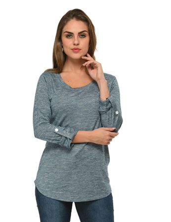 frenchtrendz-rolled-sleeve-viscose-grindle-blue-top
