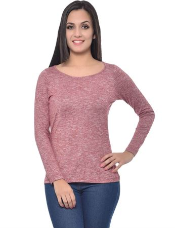frenchtrendz-round-neck-grindle-maroon-top