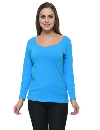 frenchtrendz-scoop-neck-cotton-spandex-blue-top