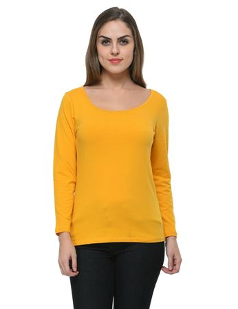 frenchtrendz-scoop-neck-cotton-spandex-mustard-top
