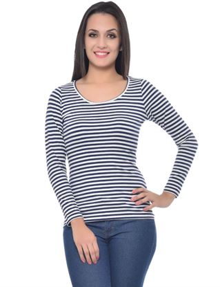 frenchtrendz-scoop-neck-cotton-spandex-navy-white-stripe-top