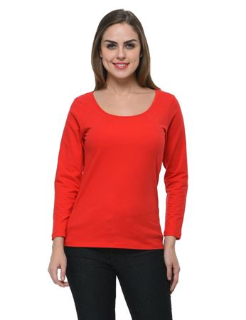 frenchtrendz-scoop-neck-cotton-spandex-red-top