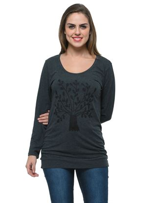frenchtrendz-charcoal-viscose-spandex-charcoal-long-printed-top