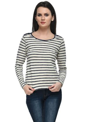 frenchtrendz-blue-oatmeal-stripe-top