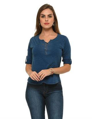frenchtrendz-cotton-henley-indigo-wash-top