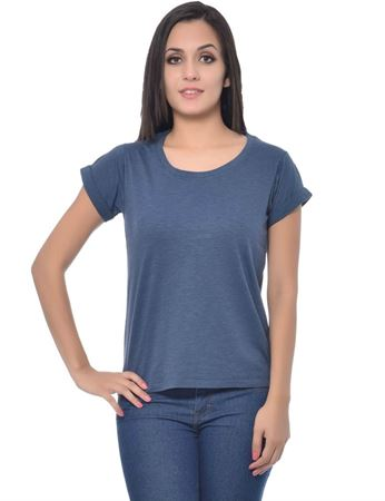 frenchtrendz-round-neck-cotton-slub-navy-top
