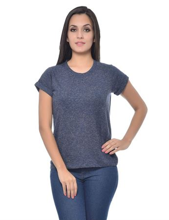 frenchtrendz-round-neck-cotton-slub-neps-navy-top