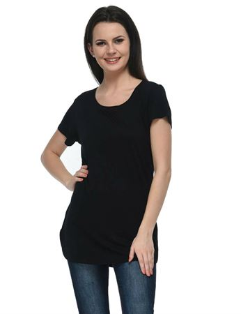 frenchtrendz-round-neck-long-viscose-black-top
