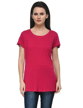 frenchtrendz-round-neck-long-viscose-pink-top