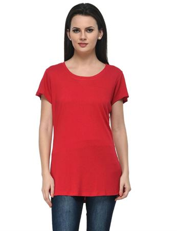 frenchtrendz-round-neck-long-viscose-red-top