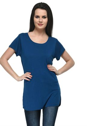 frenchtrendz-round-neck-long-viscose-teal-top