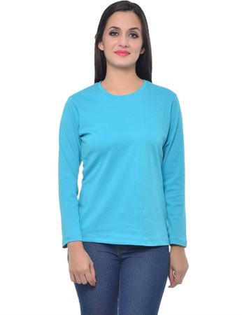 frenchtrendz-round-neck-cotton-interlock-turq-top